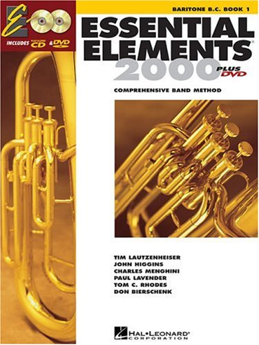 Essential Elements for Band Baritone B. C. N/A edition cover