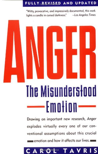 Anger The Misunderstood Emotion  1989 (Revised) edition cover