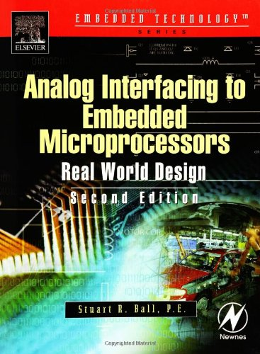 Analog Interfacing to Embedded Microprocessor Systems  2nd 2003 (Revised) edition cover