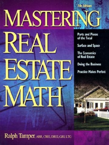 Mastering Real Estate Mathematics  7th 2002 (Revised) edition cover