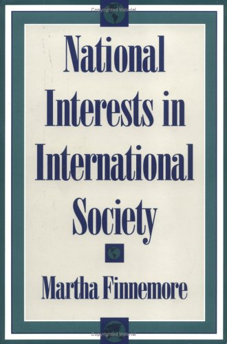 National Interests in International Society   1996 edition cover