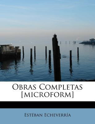 Obras Completas [Microform]  N/A 9781116287233 Front Cover