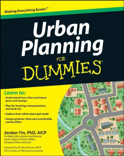 Urban Planning for Dummies   2012 edition cover
