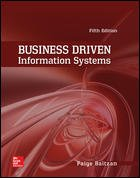 Business Driven Information Systems:  5th 2015 edition cover