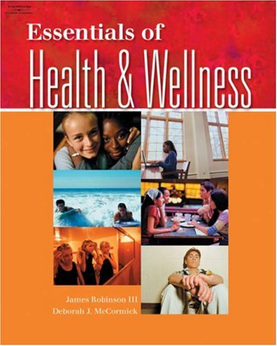 Essentials of Health and Wellness   2005 edition cover