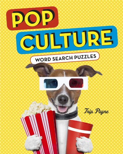Pop Culture Word Search Puzzles   2014 9781402780233 Front Cover