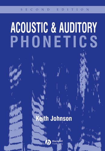 Acoustic and Auditory Phonetics  2nd 2003 (Revised) edition cover