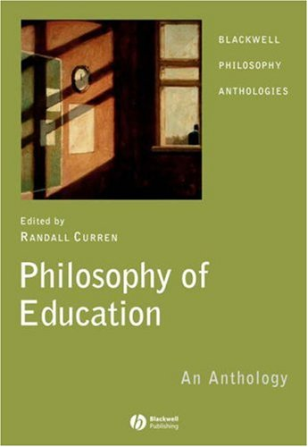 Philosophy of Education An Anthology  2006 edition cover