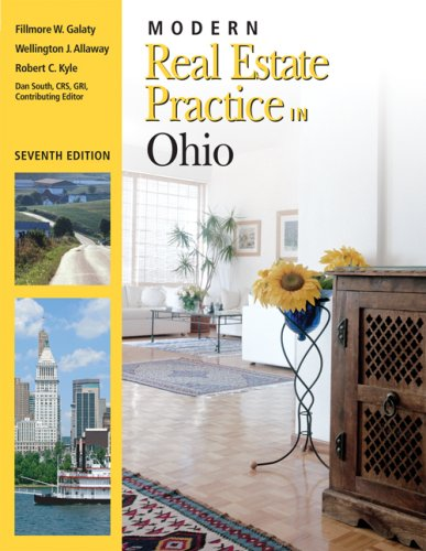 Modern Real Estate Practice in Ohio 7th 2008 edition cover