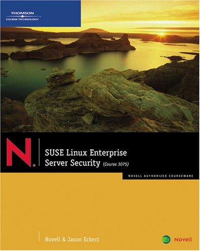 SUSE Linux Enterprise Server Security   2008 edition cover
