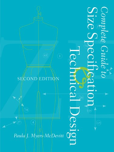 Complete Guide to Size Specification and Technical Design  2nd 2009 edition cover