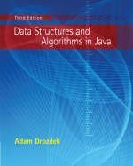 Data Structures and Algorithms in Java 3rd edition cover