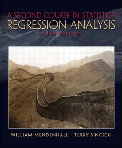 Second Course in Statistics Regression Analysis 6th 2003 (Revised) edition cover
