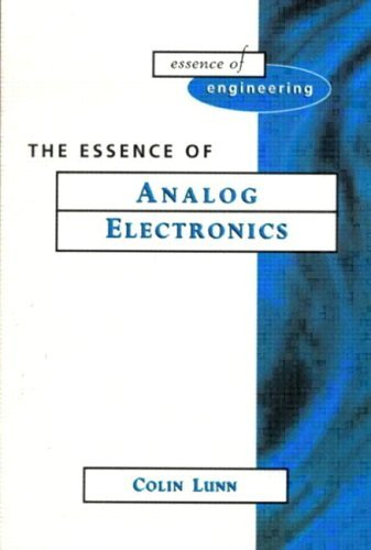 Essence Analog Electronics   1997 9780133602234 Front Cover