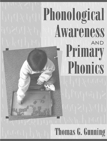 Phonological Awareness and Primary Phonics   2000 9780205323234 Front Cover