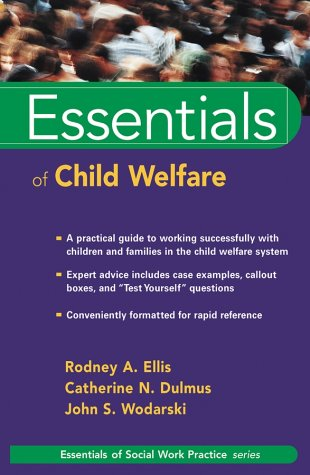 Essentials of Child Welfare   2003 edition cover