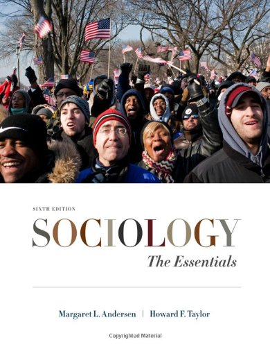 Sociology The Essentials 6th 2011 edition cover