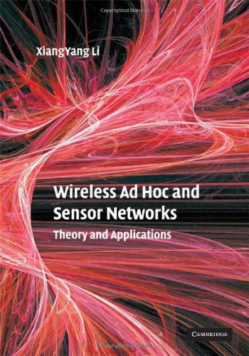 Wireless Ad Hoc and Sensor Networks Theory and Applications  2008 9780521865234 Front Cover