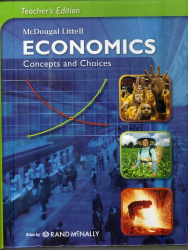 McDougal Littell Economics Concepts and Choices   2008 9780618815234 Front Cover