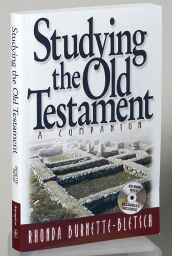 Studying the Old Testament A Companion  2007 9780687646234 Front Cover