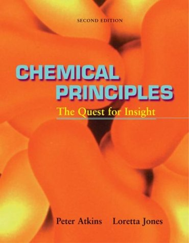 Chemical Principles The Quest for Insight 2nd 2001 edition cover
