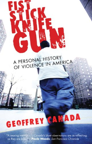 Fist Stick Knife Gun A Personal History of Violence  1996 edition cover