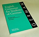 English Grammar for Students of German 3rd 1994 edition cover