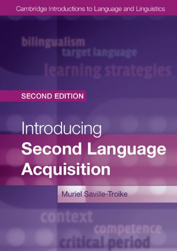 Introducing Second Language Acquisition  2nd 2012 (Revised) edition cover
