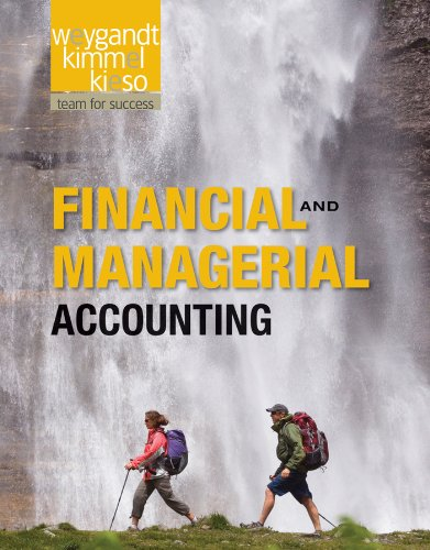 Financial and Managerial Accounting   2012 edition cover