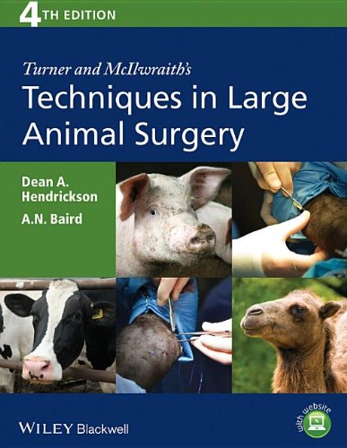 Techniques in Large Animal Surgery  4th 2013 edition cover