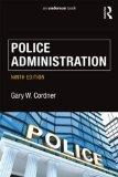 Police Administration:   2016 9781138903234 Front Cover