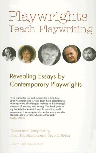 Playwrights Teach Playwriting  2006 edition cover