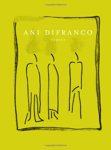 Ani Difranco - Verses   2007 9781583228234 Front Cover