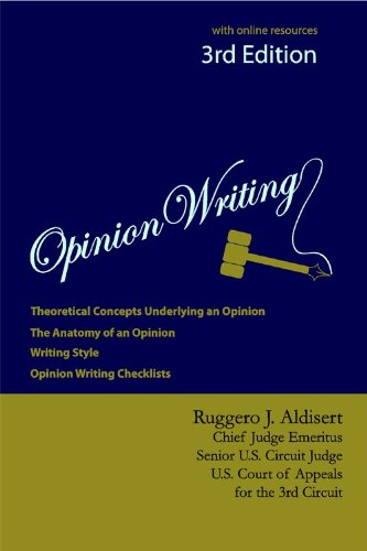 Opinion Writing  3rd 2012 edition cover