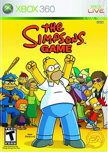 The Simpsons Game Xbox 360 artwork