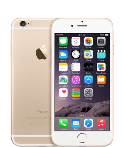Apple iPhone 6 - 128GB - Gold (Sprint) product image