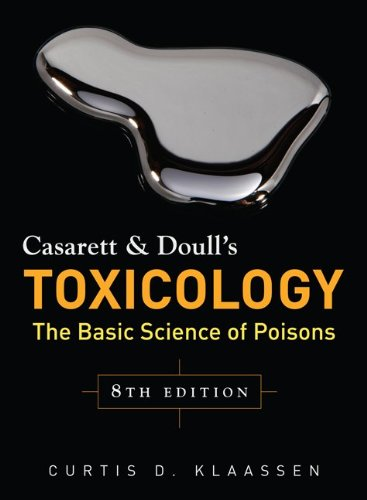 Toxicology The Basic Science of Poisons 8th 2013 edition cover