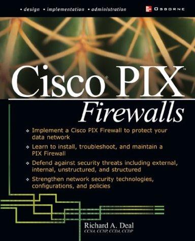 Cisco� PIX Firewalls   2002 edition cover