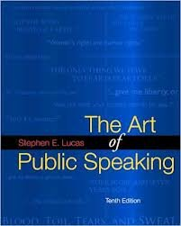 ART OF PUBLIC SPEAKING >ANNOT.INSTRS< N/A edition cover