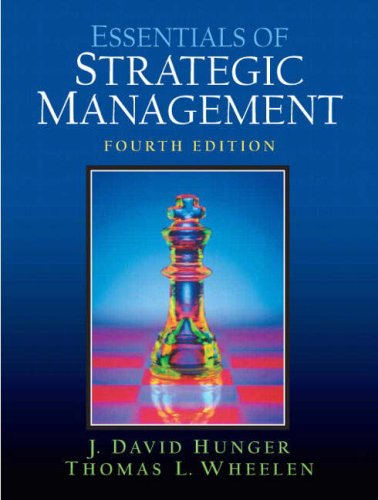 Essentials of Strategic Management  4th 2007 edition cover