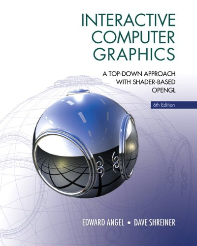 Interactive Computer Graphics A Top-Down Approach with Shader-Based OpenGL 6th 2012 9780132545235 Front Cover