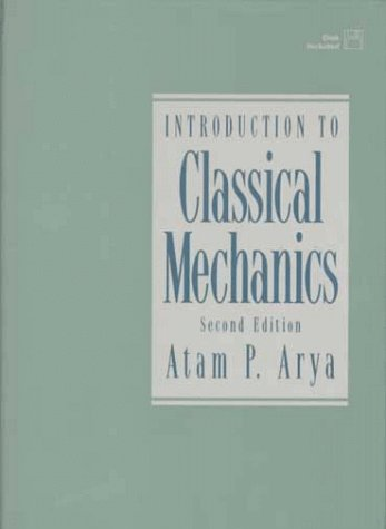 Introduction to Classical Mechanics  2nd 1998 edition cover