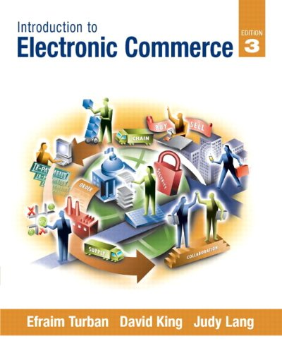 Introduction to Electronic Commerce  3rd 2011 edition cover