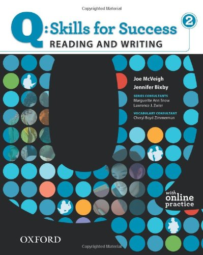 Q - Skills for Success - Reading and Writing   2011 (Student Manual, Study Guide, etc.) edition cover