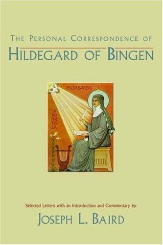 Personal Correspondence of Hildegard of Bingen   2006 edition cover