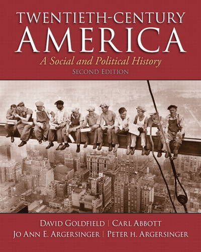 Twentieth-Century America  2nd 2013 (Revised) edition cover