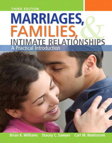 Marriages, Families, and Intemate Relationships  3rd 2013 edition cover