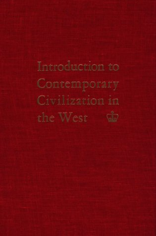 Introduction to Contemporary Civilization in the West  3rd 9780231024235 Front Cover