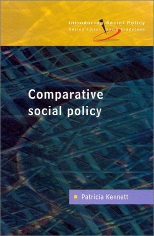 Comparative Social Policy Theory and Research  2001 edition cover