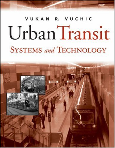 Urban Transit Systems and Technology   2007 edition cover